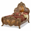 AICO by Michael Amini - Chateau Beauvais Cal. King Panel Bed in Noble Bark