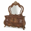 AICO by Michael Amini - Chateau Beauvais Dresser and Mirror in Noble Bark