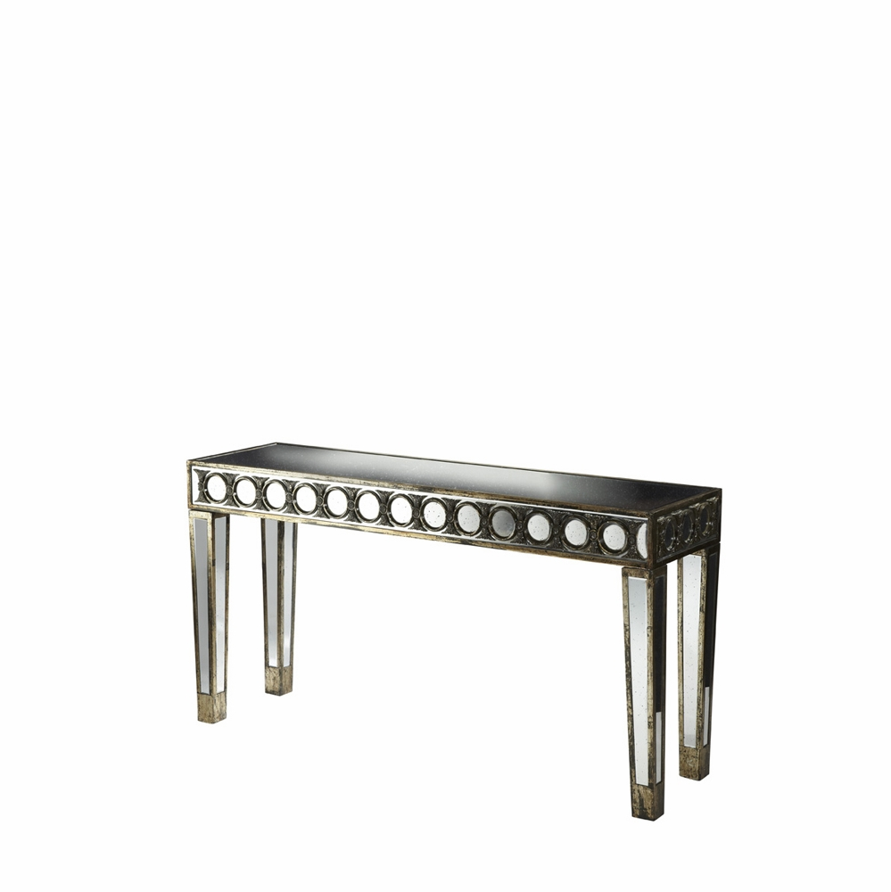 Fabulous Aico By Michael Amini Discoveries Mirrored Console Table Acf Con Dvon 21 Cjindustries Chair Design For Home Cjindustriesco