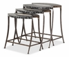 AICO by Michael Amini - Discoveries Nesting Tables 3 Pc w/ Troca and Cabibe Shell - ACF-NST-100
