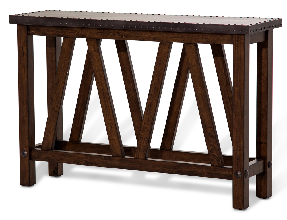 162ab4aae372 AICO by Michael Amini - Freestanding Brighton Console Table - FS-BRGTN223.  Hover to zoom