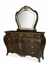 AICO by Michael Amini - Imperial Court Dresser and Mirror in Radiant Chestnut