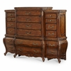 AICO by Michael Amini - Lavelle 6 Drawer Chest with Piers in Melange