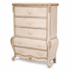 AICO by Michael Amini - Lavelle Cottage 5 Drawer Chest in Blanc - 9022670-04