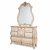 AICO by Michael Amini - Lavelle Cottage Dresser and Mirror in Blanc