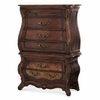 AICO by Michael Amini - Palais Royale Gentleman's Chest in Rococo Cognac