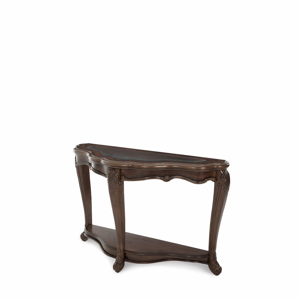 Pleasant Aico By Michael Amini Palais Royale Sofa Table In Rococo Cognac 71203 35 Cjindustries Chair Design For Home Cjindustriesco