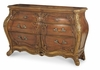 AICO by Michael Amini - Palais Royale Triple Dresser in Rococo Cognac - 71050-35