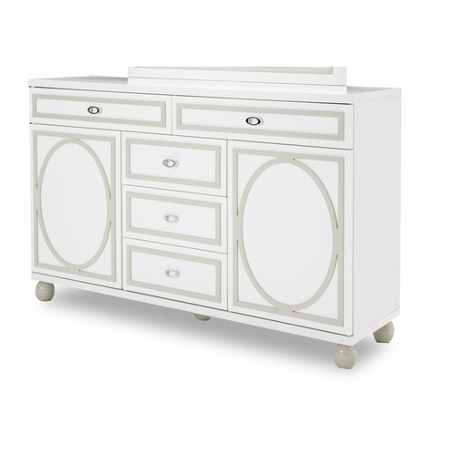 AICO by Michael Amini - Sky Tower Dresser in Cloud White - 9025650-108