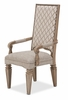 AICO by Michael Amini - Tangier Coast Arm Chair in Desert Sand - 9080004-100