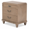 AICO by Michael Amini - Tangier Coast Nightstand in Desert Sand - 9080040-100