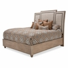 AICO by Michael Amini - Tangier Coast Queen Panel Bed in Desert Sand