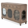 AICO by Michael Amini - Tangier Coast Sideboard in Desert Sand - 9080007-100