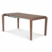 Aico By Michael Amini Lavelle Oval Pedestal Dining Table In Melange