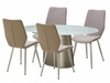 AICO by Michael Amini - Trance Halsted Oval Dining Room Set (7 pc)