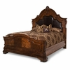 AICO by Michael Amini - Tuscano King Mansion Bed in Melange