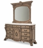 AICO by Michael Amini - Villa di Como Dresser and Mirror in Heritage