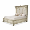AICO by Michael Amini - Villa di Como King Upholstered Bed in Moonlight