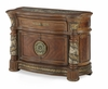 AICO by Michael Amini - Villa Valencia Bachelor's Chest in Classic Chestnut - 72042-55