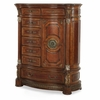 AICO by Michael Amini - Villa Valencia Gentleman's Chest in Classic Chestnut - 72070-55