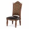 AICO by Michael Amini - Villa Valencia Side Chair in Classic Chestnut - 72003-55