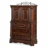 AICO by Michael Amini - Windsor Court Gentleman's Chest in Vintage Fruitwood