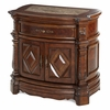 AICO by Michael Amini - Windsor Court Nightstand in Vintage Fruitwood - 70040-54