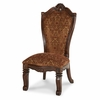 AICO by Michael Amini - Windsor Court Side Chair Fabric Back in Vintage Fruitwood - 70003-54