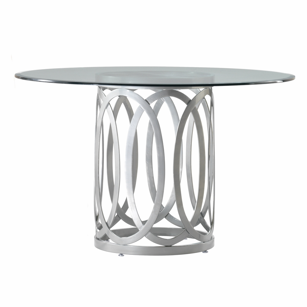 """Allan Copley Designs - Alchemy 48"""" Round Dining Table with ..."""