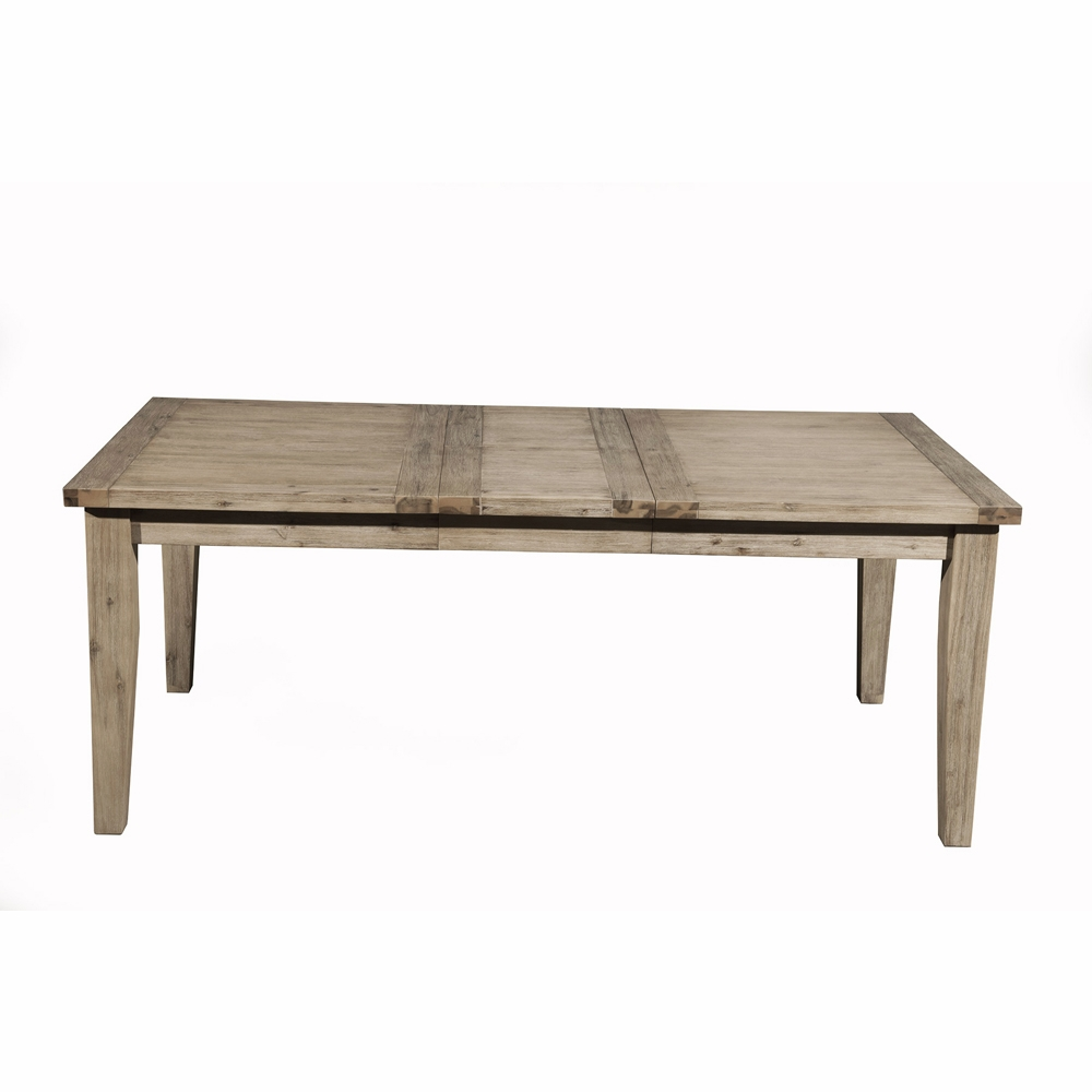 Alpine Furniture - Aspen Extension Dining Table with Butterfly Leaf -  8812-01