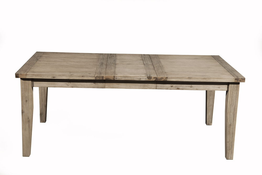 Alpine Furniture Aspen Extension Dining Table With Butterfly Leaf 8812 01