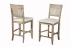 Alpine Furniture - Aspen Pub Chair  Set of 2 - 8812-04