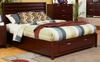 Alpine Furniture - Camarillo Full Size Platform Bed with Storage Footboard - TA-08 F
