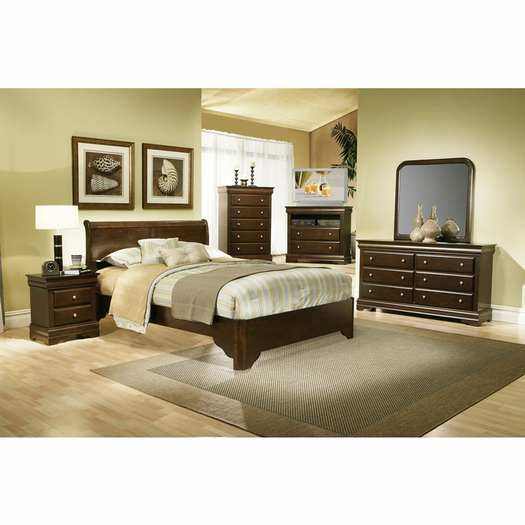 Alpine Furniture - Chesapeake 6-Piece Queen Bedroom Set