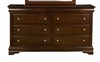 Alpine Furniture - Chesapeake Dresser with 6 Drawers - 3201