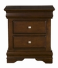 Alpine Furniture - Chesapeake Nightstand with 2 Drawers - 3202