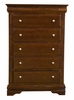 Alpine Furniture - Chesapeake Tall Boy Chest with 5 Drawers - 3204