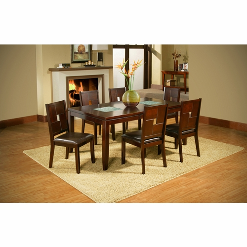 Alpine Furniture - Lakeport 7-Piece Dining Set