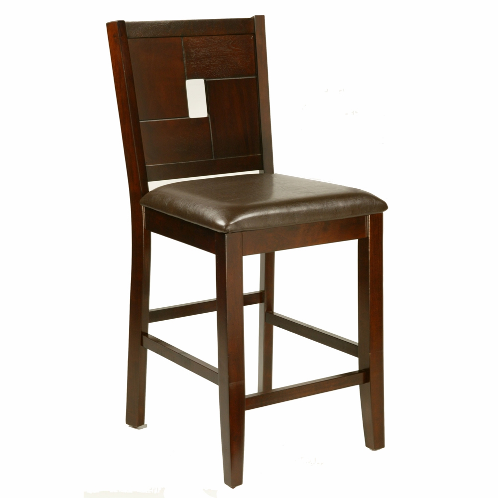 Alpine Furniture Lakeport Counter Height Pub Chair With