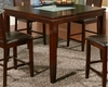 Alpine Furniture - Lakeport Counter Height Table with Broken Glass Insert - 552-01