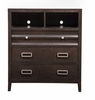 Alpine Furniture - Legacy 3 Drawer Tv Media Chest - 1788-11