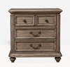 Alpine Furniture - Melbourne 2 Drawer Nightstand - 1200-02