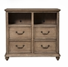 Alpine Furniture - Melbourne 4 Drawer Tv Media Chest - 1200-11