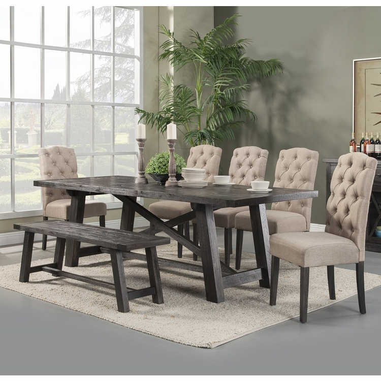 Alpine Furniture - Newberry 8-Piece Dining Set