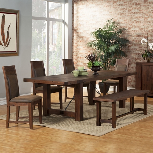 Alpine Furniture - Pierre 6-Piece Dining Set