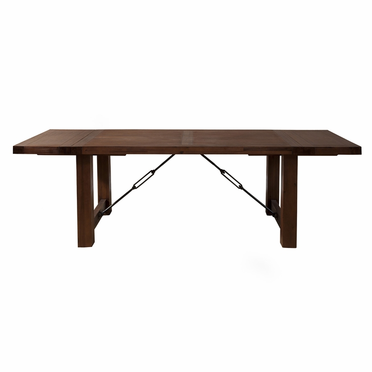 Alpine Furniture Pierre Dining Table With Dual Removable