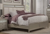 Alpine Furniture - Silver Dreams Standard King Bed with Upholstered Headboard - 1519-07EK