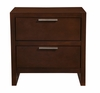 Alpine Furniture - Urban 2 Drawer Nightstand - 1888-02