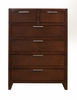 Alpine Furniture - Urban 5 Drawer Chest - 1888-05