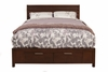 Alpine Furniture - Urban California King Storage Bed - 1888-07CK